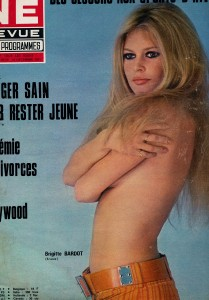 Brigitte Bardot ciné revue 1971