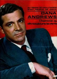 Dana Andrews (janvier 68 ciné revue