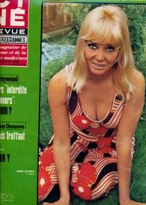 Diane Cilento (cinérevue janvier 70)