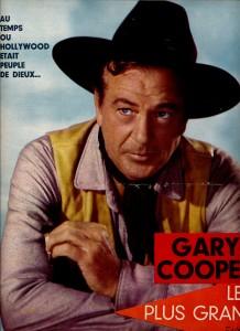 Gary Cooper (5-5-1966) Ciné revue)