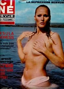 Ursula Andress par Angelo Frontoni (cine revue aout 1976)