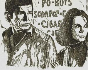 Charles Bronson et Natalie Wood by Didgiv
