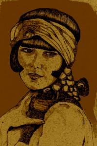 Louise Brooks (dessin de Didgiv)