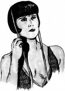 louise brooks by didgiv