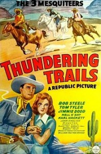 THUNDERING TRAILS (1943)