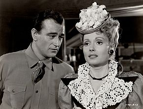 John Wayne, Martha Scott
