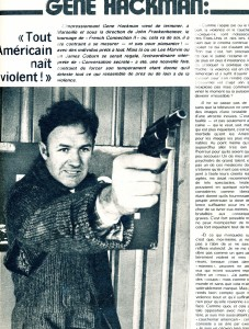 Gene Hackman Ciné revue 74