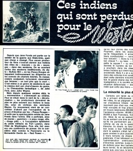 Jane Fonda défend les Indiens