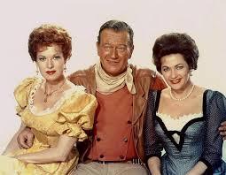Maureen O'Hara, John Wayne, Yvonne De Carlo