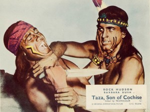 taza, son of Cochise (Rock Hudson)
