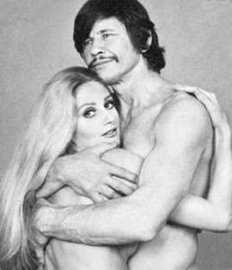 Charles bronson and Jill ireland