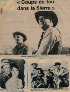 Coups de feu dans la Sierra (1962)