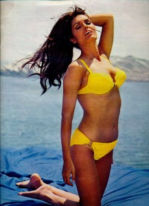 Daliah Lavi mars 1970 Cinérevue