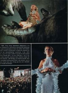 Jessica Lange-King Kong(cinerevue decembre 1976)