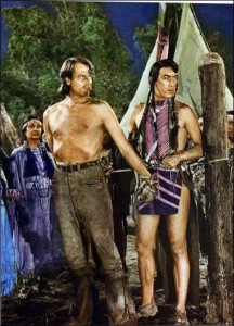 Joel McCrea, Anthony Quinn (Buffalo Bill)