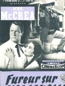 Joel McCrea, Gloria Talbott (Fureur sur l'Oklahoma)