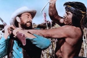 John McIntire, Burt Lancaster (BRONCO APACHE)