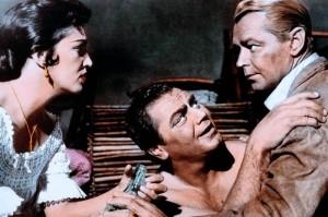 Katy Jurado, Ernest Borgnine, Alan Ladd