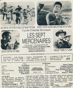 Les 7 mercenaires (T7J)