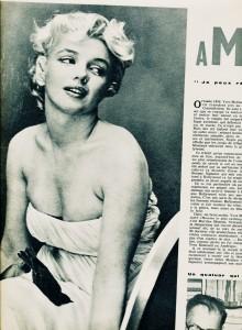 Marilyn Monroe cinémonde