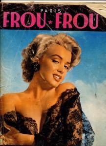 Marilyn Monroe dans Frou-Frou