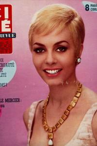 Michèle Mercier (9-6-1966) Ciné revue)