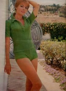 Michèle Mercier (ciné revue décembre 77)