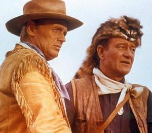 Richard Widmark, John Wayne (ALAMO)