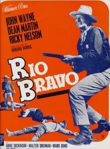 Rio Bravo-Plaquette originale