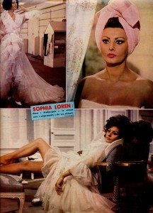 Sophia Loren juin 66