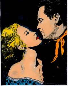 fort bravo (William Holden et Eleanor Parker)