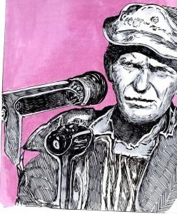 Sam Peckinpah (dessin de didgiv)