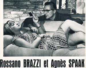 Agnès Spaak - Rossano Brazzi