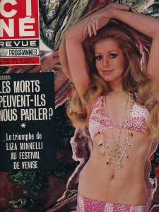 Catherine Spaak Ciné revue 1972
