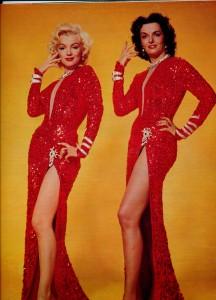 Jane Russell Marilyn Monroe ciné revue 69