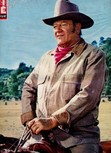 John Wayne cinerevue avril 1970