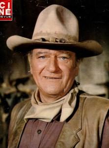 John Wayne (cine revue aout 1976)