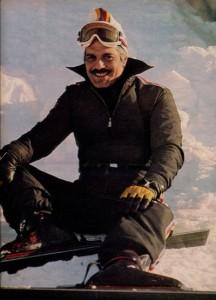 Omar Sharif au ski-1977 - cinerevue
