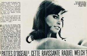 Raquel Welch (Cinémonde nov. 65)