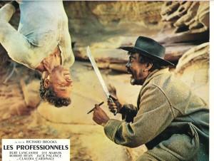 Burt Lancaster dans Les professionnels