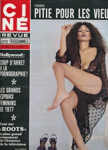 Ciné revue mars 1977 Tawn Christian