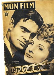 Joan Fontaine, Louis Jourdan (Mon film, 1948)
