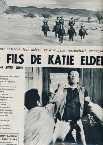 Les quatre fils de katie Elder (Cinémonde 1965)_john wayne