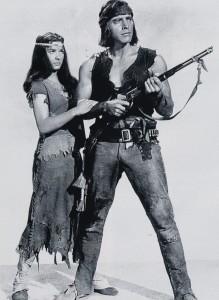Bronco Apache (Burt Lancaster et Jean Peters)