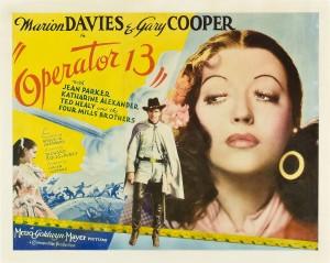 Operator 13 (Gary Cooper, Marion Davies)