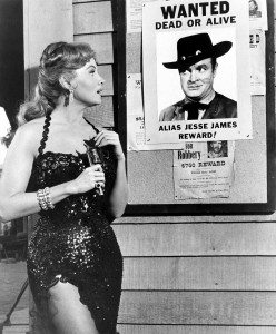 Rhonda Fleming (Alias Jesse James)