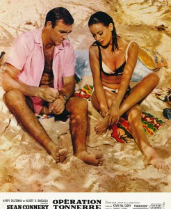Sean Connery, Claudine Auger