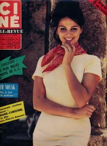 Claudia Cardinale février 1963