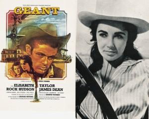 Géant (James Dean, Liz Taylor)