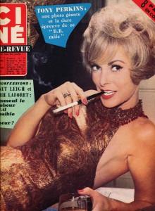 Janet Leigh (ciné revue janvier 1963)